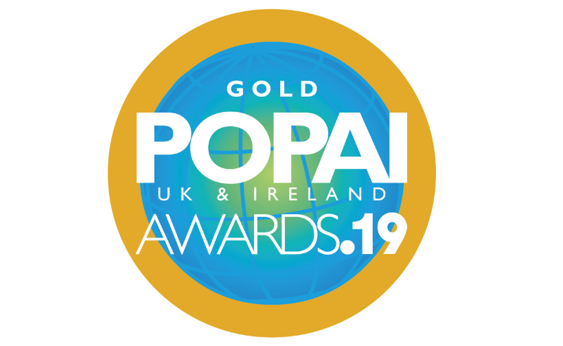 POPAI Gold Winner 2019